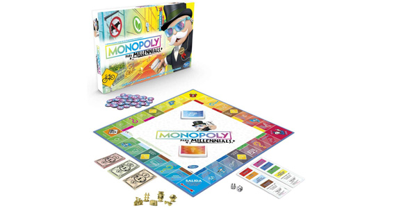 Monopoly Millenials barato en Amazon