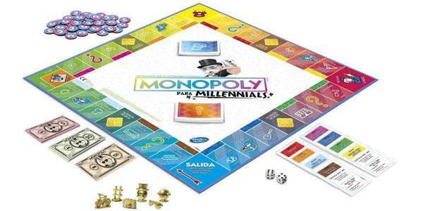 Monopoly Millenials chollo en Amazon
