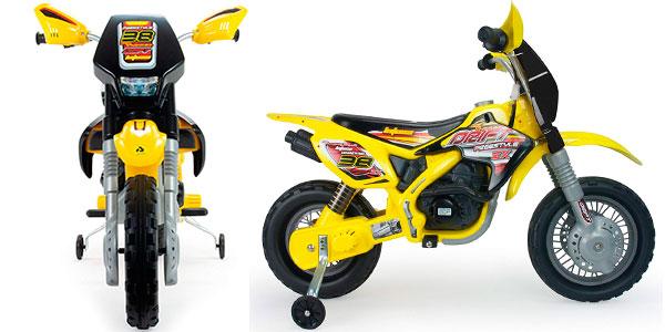 Moto Cross Thunder Max VX de 12V con ruedines barata