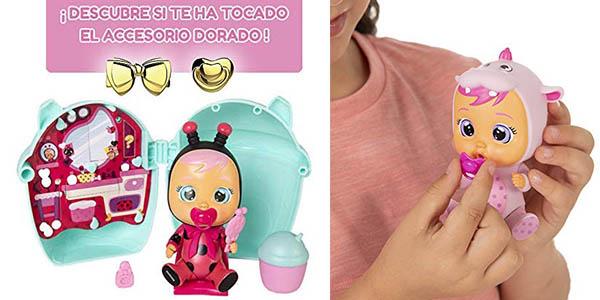 Muñeco Bebés Llorones Lágrimas Mágicas con sorpresa chollo