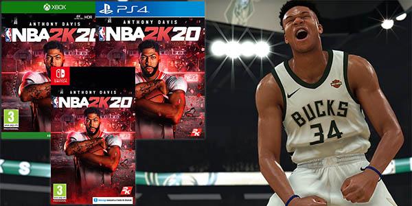 NBA 2K20 para PS4, Nintendo Switch y Xbox One