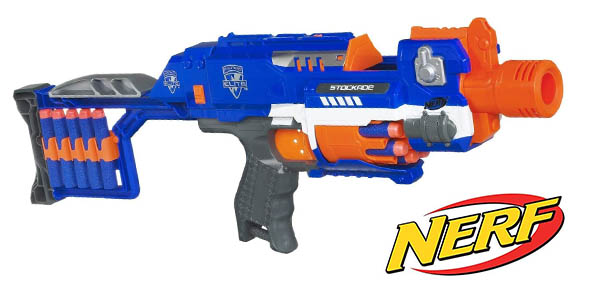 Nerf Elite Stockade chollo