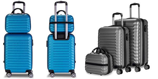 Newtech conjunto de maletas baratas
