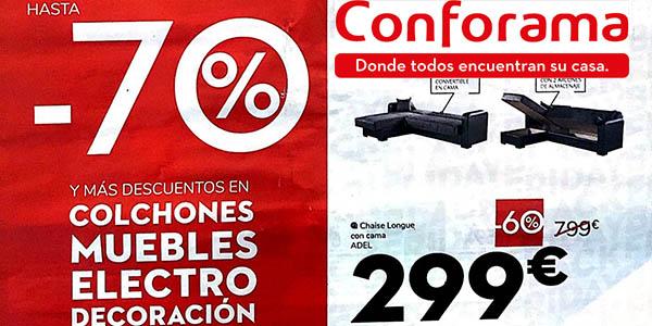 ofertas Black Friday 2019 Conforama