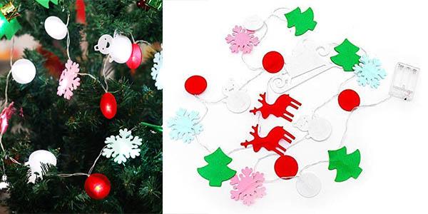 Ohuhu luces LED para decoración árbol de Navidad baratas