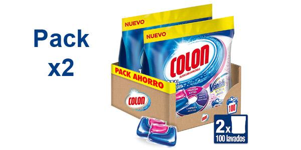 Pack x2 Colon Duplo Capsulas Frescor Extra Vanish de 50 lavados/us barato en Amazon