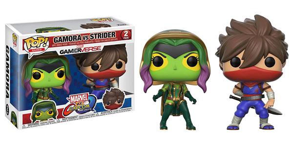 Pack x2 Figuras Pop! Gamora Vs. Strider (Marvel Vs Capcom Infinite) barato en Amazon