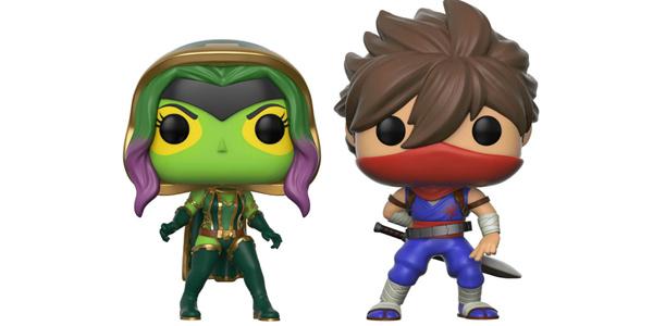 Pack x2 Figuras Pop! Gamora Vs. Strider (Marvel Vs Capcom Infinite) chollo en Amazon