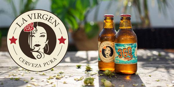 Pack x24 Cerveza Artesana La Virgen 360º de 250 ml/ud chollo en Amazon