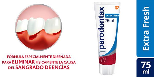 Pack x3 Pasta de Dientes Parodontax Extra Fresh para el Sangrado de Encías chollo en Amazon