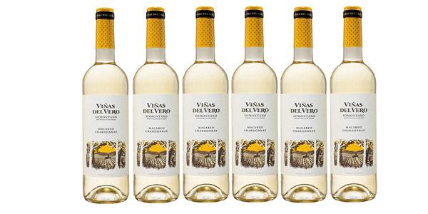 Pack x6 Viñas Del Vero Macabeo-Chardonnay D.O. Somontano de 750 ml barato en Amazon