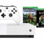 Pack Xbox One S All Digital 1 TB + Minecraft + Sea of Thieves + Fortnite
