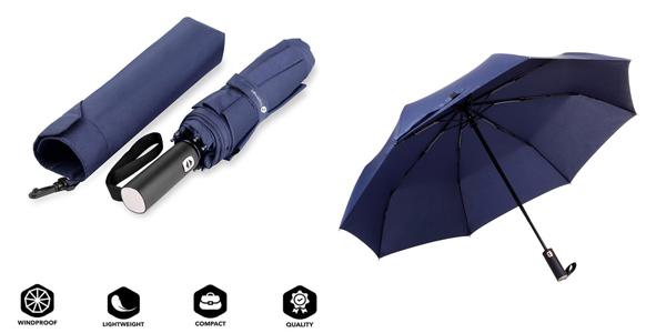 Paraguas Plegable compacto Veperain Paraguas barato en Amazon
