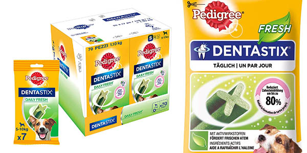 Pedigree Dentastix Fresh chollo