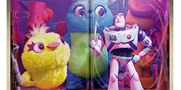 Toy Story 4 Edición Steelbook Blu-ray en oferta
