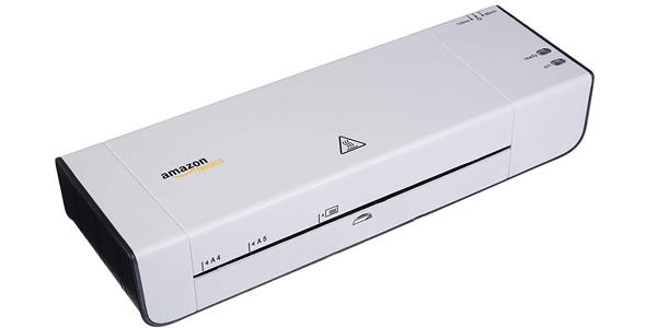 Plastificadora A4 AmazonBasics barata en Amazon
