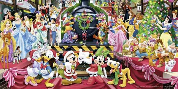 Puzle de 1000 piezas Navidad Disney de Ravensburger chollazo en Amazon
