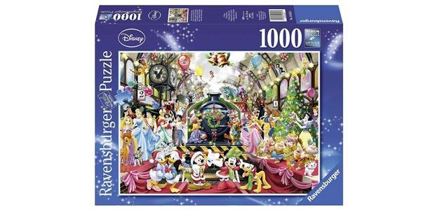 Puzle de 1000 piezas Navidad Disney de Ravensburger chollo en Amazon
