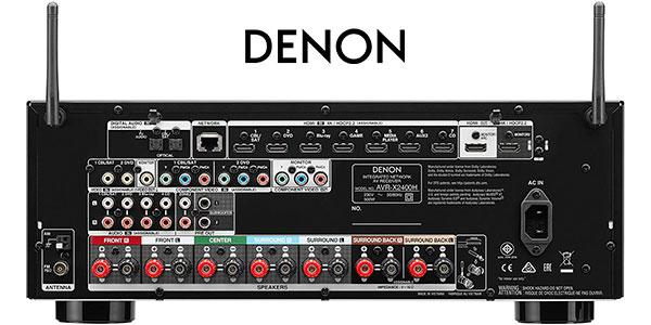 Receptor AV Denon AVR-X2400H de 7 canales barato