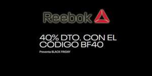 Reebok Pre-Black Friday 2019
