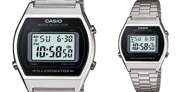 Reloj digital unisex Casio B640WD-1AVEF barato en Amazon