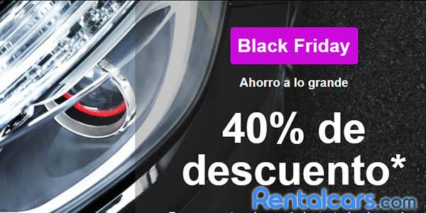 Rentalcars Black Friday 2020