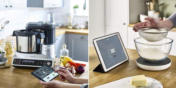 Robot de cocina Kenwood kCook Multi Smart de 1.500 W y WiFi chollo en Amazon