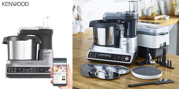 Robot de cocina Kenwood kCook Multi Smart de 1.500 W y WiFi barato en Amazon