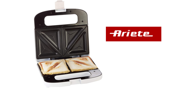 Sandwichera Toast & Grill Ariete 1984 de 750 W barata en Amazon