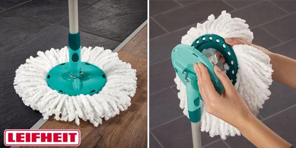 Set cubo + fregona Leifheit Clean Twist System Mop chollo en Amazon