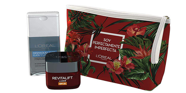 Set de Regalo L'Oreal París Dermo Expertise con neceser barato en Amazon