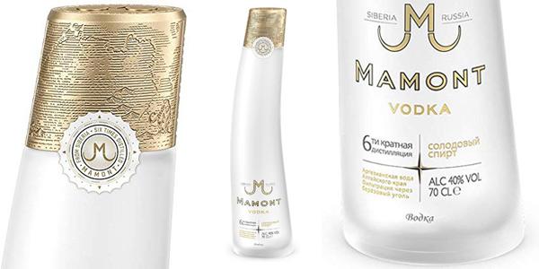 Siberian Vodka Mamont de 700 ml barato en Amazon