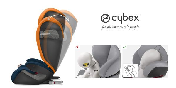 Silla de coche Cybex Gold Solution S-Fix Grupo 2/3 chollo en Amazon