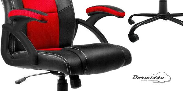 Silla de oficina Racing Gaming SR-1 de altura ajustable chollo en eBay