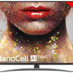 "Smart TV LG 65SM8200 UHD 4K HDR de 65"" con IA"