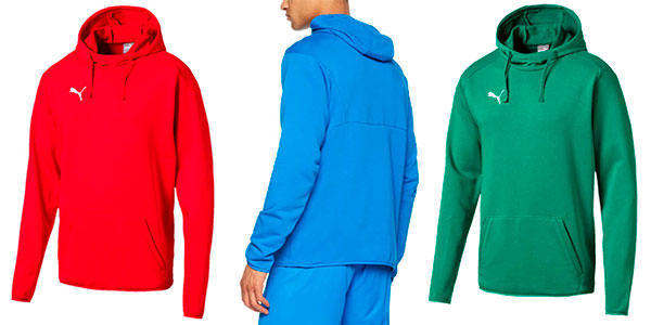 Sudadera Puma Liga Casuals con capucha para hombre barata