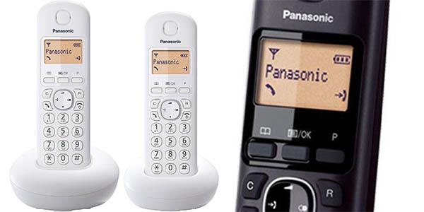 Dúo de teléfonos inalámbricos Panasonic KX-TGB212
