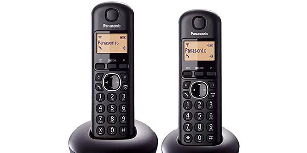 Dúo de teléfonos inalámbricos Panasonic KX-TGB212 barato