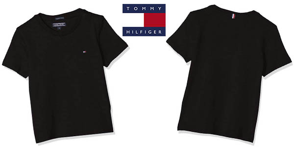 Tommy Hilfiger Boys Basic CN Knit camiseta barata