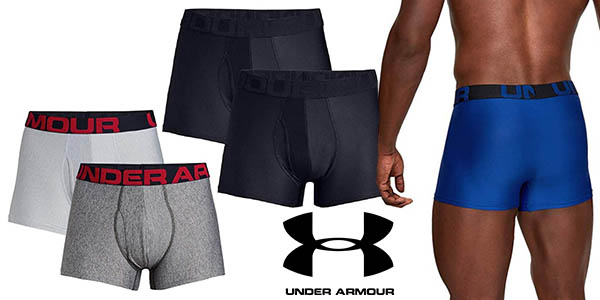 Under Armour Tech 3in2 pack bóxers baratos
