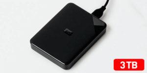 Disco duro portátil Western Digital Elements SE de 3 TB