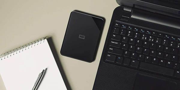 Disco duro portátil Western Digital Elements SE de 3 TB barato