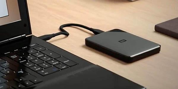 Disco duro portátil Western Digital Elements SE de 3 TB en Amazon