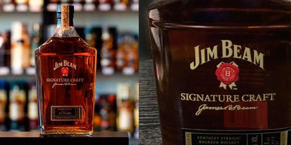 Whisky Jim Beam Signature Craft 12 Años de 700 ml barato