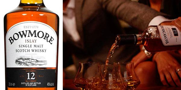 Whisky Bowmore 12 Años de 700 ml barato