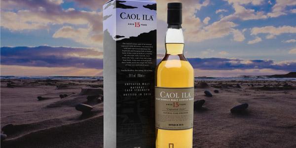 Whisky Escocés Caol Ila Unpeated Style 15 Años de 700 ml chollo en Amazon
