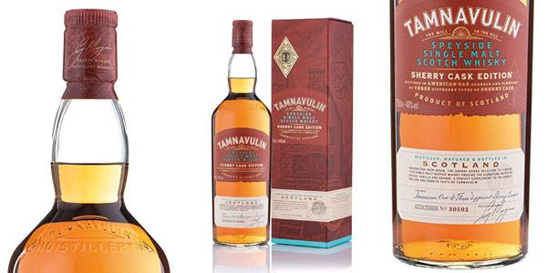 Whisky De Malta Escocés Tamnavulin Sherry Cask de 700 ml barato en Amazon