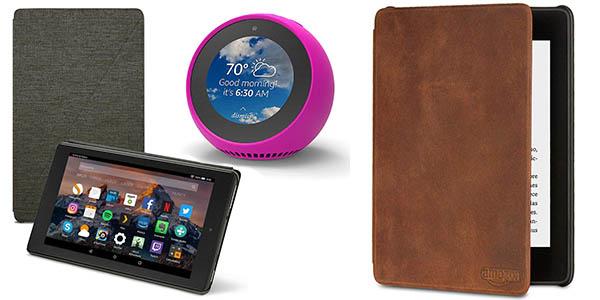 accesorios Amazon Kindle Fire promoción Navidad descuento