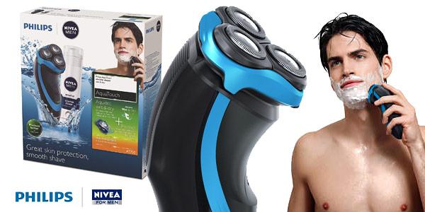 Afeitadora Philips Nivea AquaTouch AT750/26 barata en Amazon