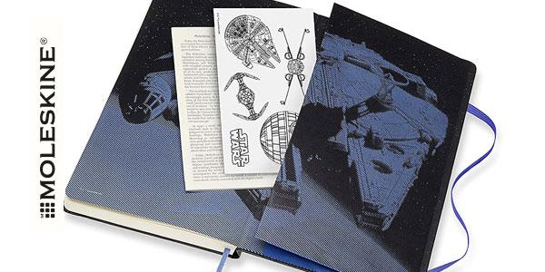 Agenda de 12 Meses para 2020 Moleskine Star Wars Edición Especial Halcón Milenario chollo en Amazon